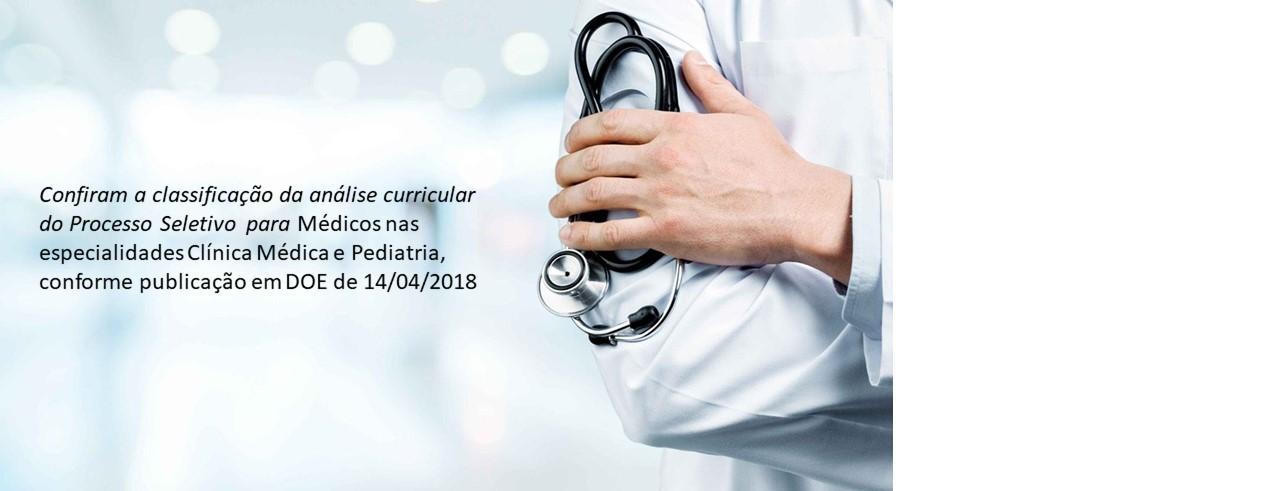 Processo Seletivo Médicos