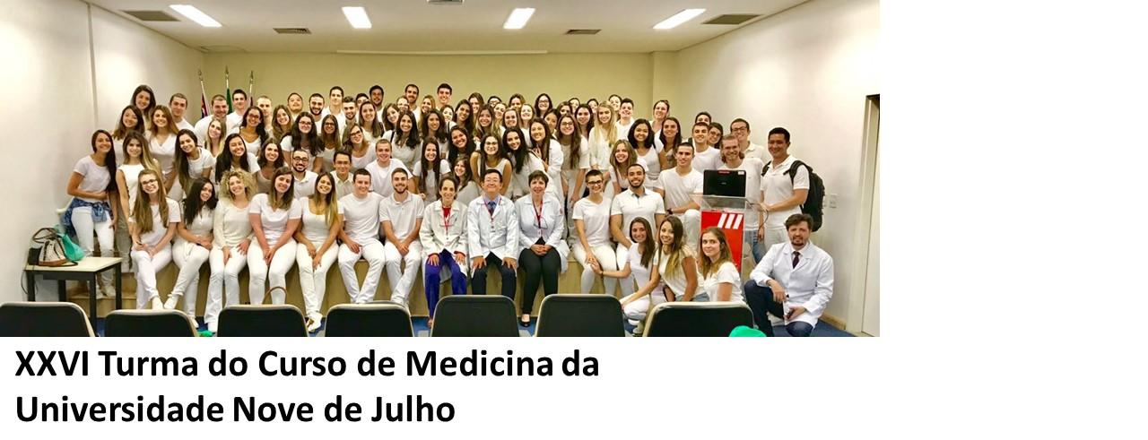 XXVI Turma do Curso de Medicina da Universidade Nove de Julho