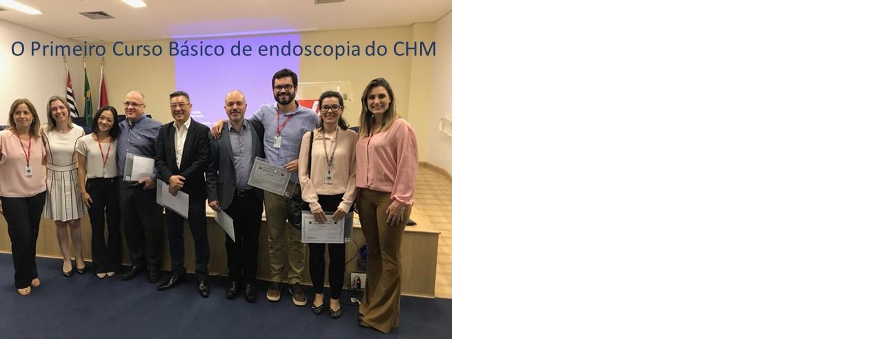 Primeiro curso básico de Endoscopia do CHM